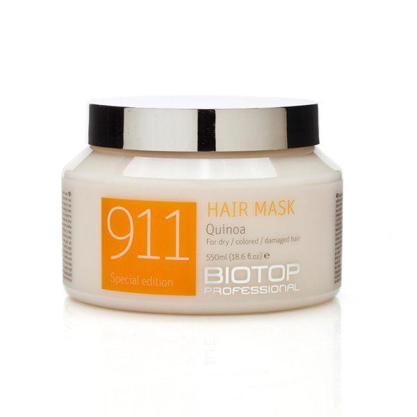 quinoa mascara de cabello tradex biotop professional