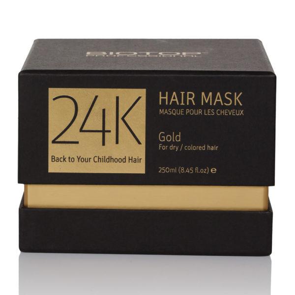 24k hair mask panama biotop professional